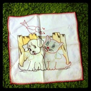 1930's pillowcase for baby/the young at heart